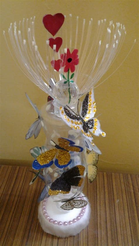Make Handmade Showpiece - best out of waste plastic cans bottles transformed to