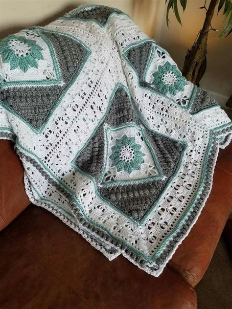 charlottes dream blanket afghan crochet patterns
