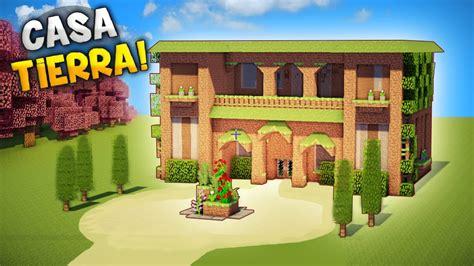 una casa de 100 8416427054 minecraft construyendo una epica y hermosa casa 100 hecha de tierra la mejor youtube