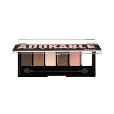 Nyx Adorable Eyeshadow nyx professional makeup adorable shadow palette reviews