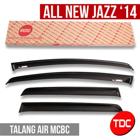 Talang Air Hujan Side Visor Mitsubishi Xpander Acrylic Model Slim 3m jual harga talang air side visor mcbc variasi honda all new jazz 2014 pinassotte