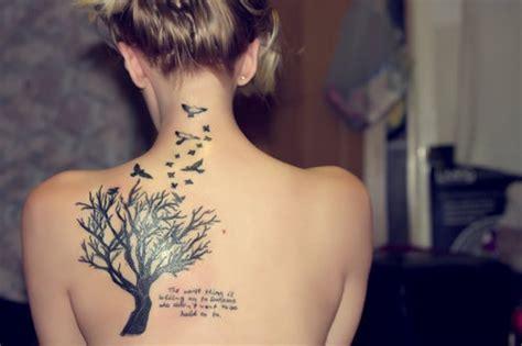 tato di kaki oliver sykes 15 stunning tree tattoos you ll love these