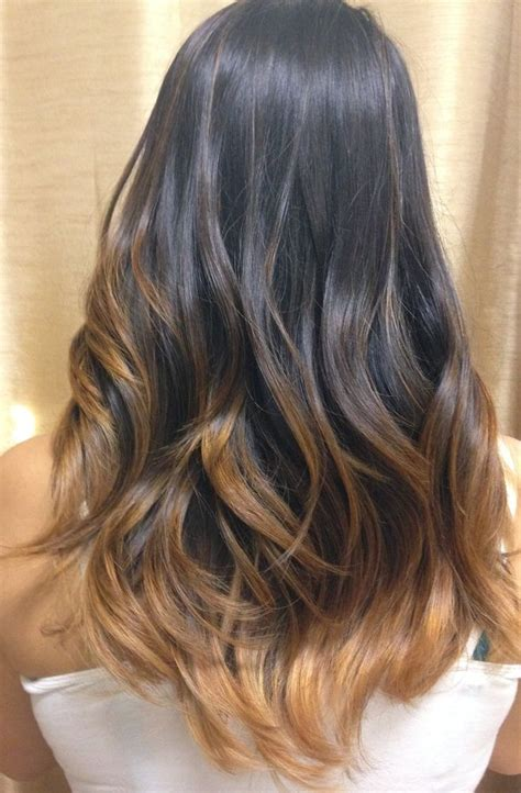 balayage ombre highlights on dark hair ombre balayage hair color hair salon services best