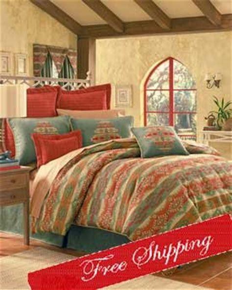 picante spice southwestern comforter set  valance king