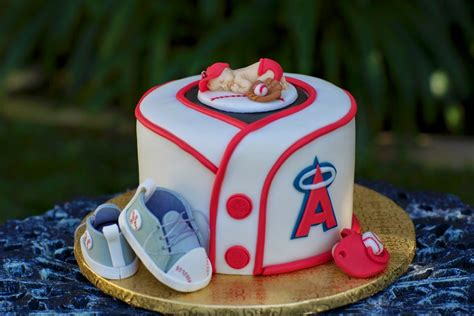 Baseball Baby Shower Cakes by Kaylynn Cakes Baby Shower Cakes