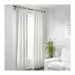 Merete Curtains Ikea Decor Merete Curtains 1 Pair White 145x300 Cm Ikea