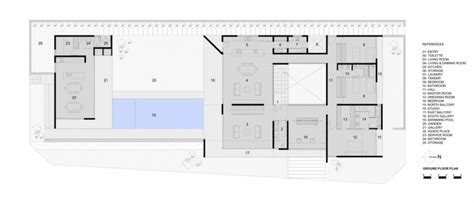 modern ground floor house plans modern house with concrete exterior and stone base