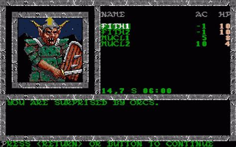 pool of radiance download 1988 role playing game pool of radiance jeu amiga images vid 233 os astuces et avis