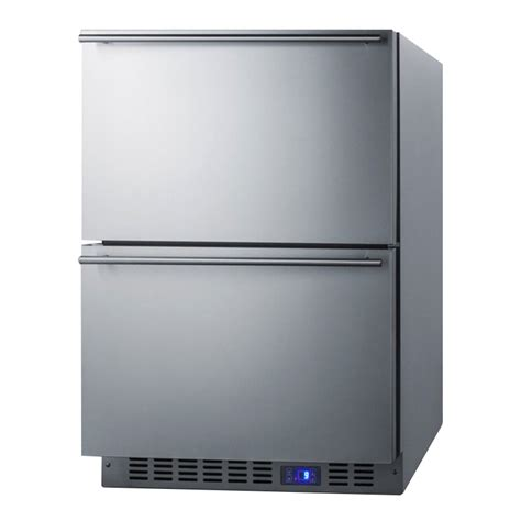 undercounter refrigerator drawers price summit cl2r248 24 quot undercounter refrigerator w 2
