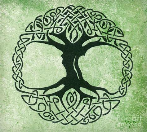 celtic tattoo history symbolism celtic tree of life canvas print canvas art by mindy