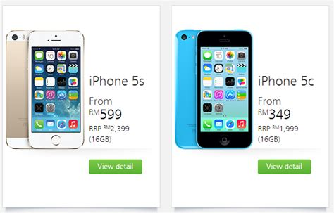 maxis iphone 5s and iphone 5c plans are out from rm599 and rm349 respectively lowyat net