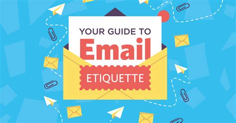 email etiquette layout your guide to email etiquette infographic
