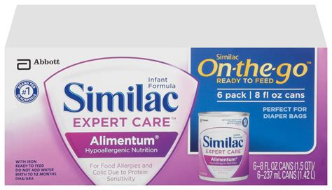 protein hydrolysate formula similac alimentum hypoallergenic formula with