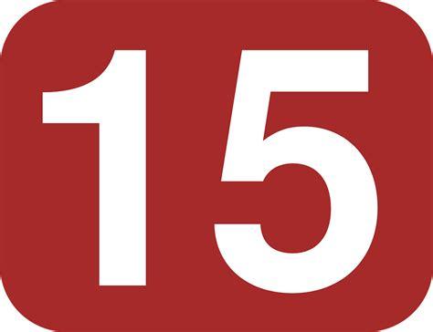 Xuping Kalung 15 12 1 image vectorielle gratuite nombre 15 quinze arrondi image gratuite sur pixabay 38463