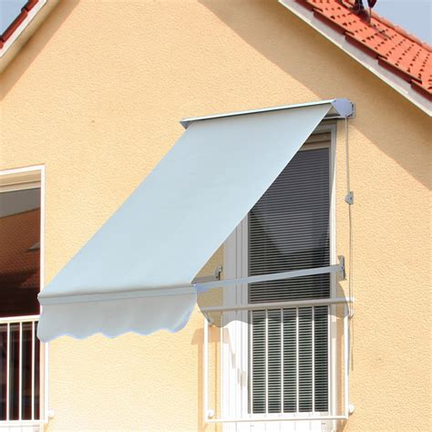 Adjustable Awning by Outdoor 4ft Drop Arm Manual Window Awning Adjustable