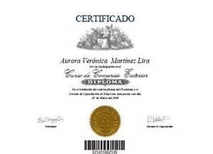 diplomas de cursos on line certificados de participacion