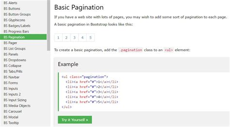 bootstrap hamburger tutorial bootstrap pagination tutorial