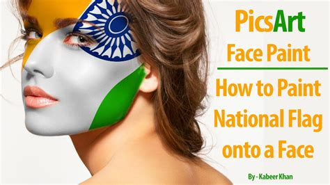 picsart tutorial oil paint picsart tutorial face paint how to paint national flag