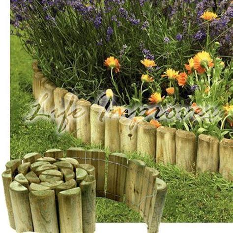 wooden garden edging ideas best 25 garden edging ideas on