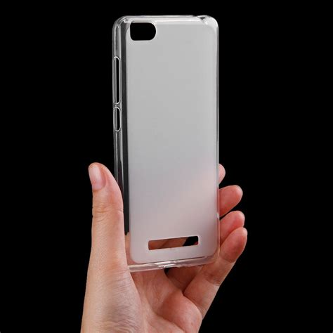 Softcase Cover Slim Fit Matte Soft Casing Xiaomi Redmi 4a for xiaomi mi 4i slim soft pudding tpu silicone matte back