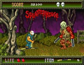 Home Design 3d Juego A Classic Game Splatterhouse A Great Becoming