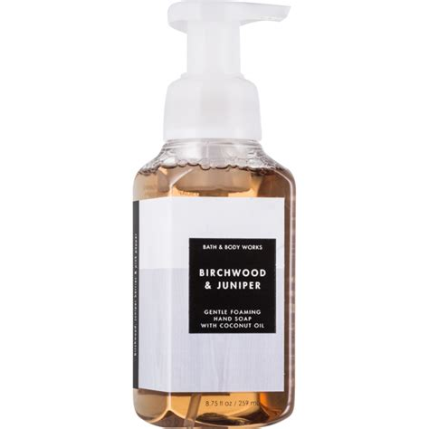 bath works birchwood juniper foaming soap