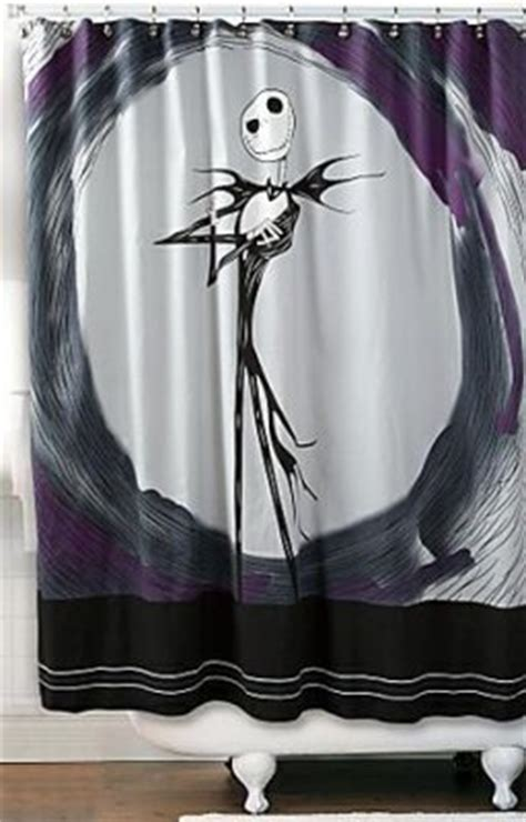 nightmare before christmas bathroom decor jack skellington shower curtain from our nightmare before