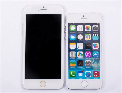 bid iphone just how big will iphone 6 be slashgear