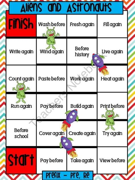 printable games for prefixes and suffixes shops prefixes and suffixes and student on pinterest