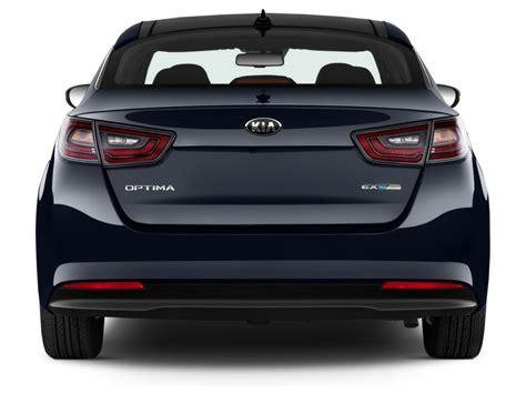 Kia Optima Rear View Image 2016 Kia Optima Hybrid 4 Door Sedan Ex Rear