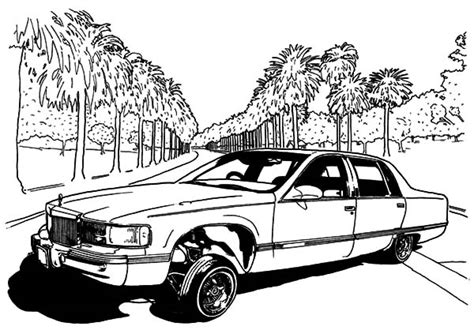 lowrider truck coloring page free coloring pages of low rider cars