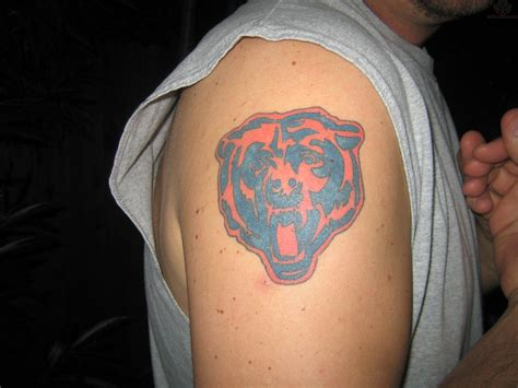 chicago bears tattoo chicago bears tattoos designs ideas page 6