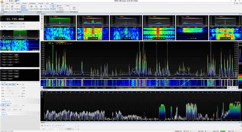 sdr console sdr console v3 update signal history receiver panes