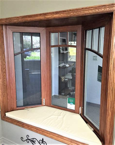 wood foil wrap interior bay  oakville windows  doors
