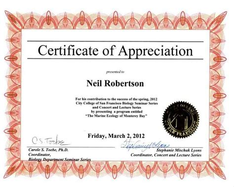 certificate of appreciation template powerpoint certificate of appreciation template powerpoint template