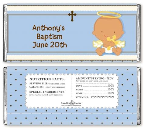 Angel Baby  Ee  Boy Ee   Hispanic Baptism Christeningdy Bar