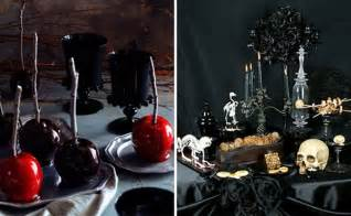 Sinister halloween table decorations and bizarre bar