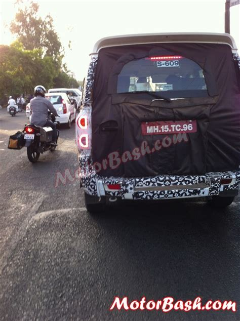 Lu Led Motor Scorpio Mahindra Starts New Scorpio Facelift S Production Launch Soon