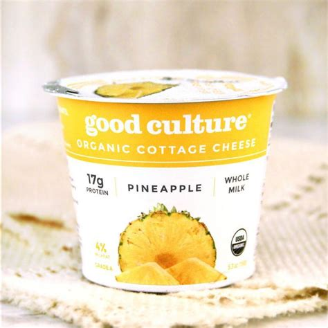 cottage cheese organic culture organic cottage cheese pineapple milk and eggs