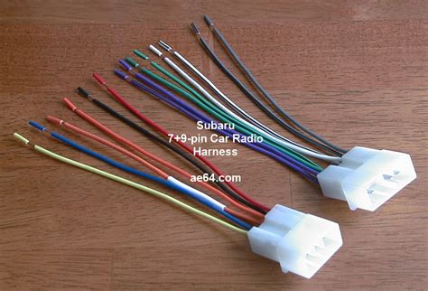 ae64 subaru radio wiring harnesses products prices