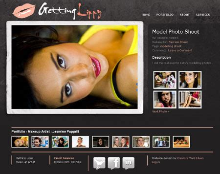 website ideas makeup artist website website and blog designed by
