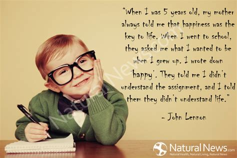 quote by john lennon when i was 5 years old my mother when i was 5 years old naturalnews com