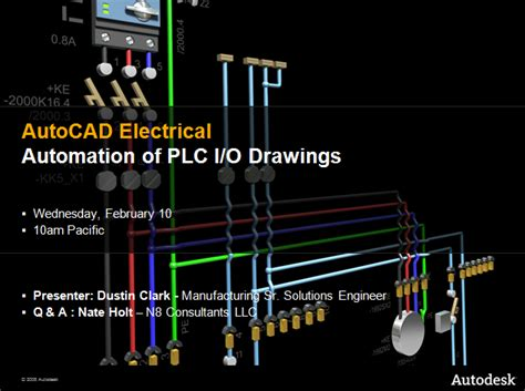 autocad electrical templates tutorial automation of plc i o drawings autocad