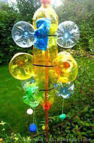 Kupka Garten by Lya Und Ich Wasserflaschenrecycling Garten