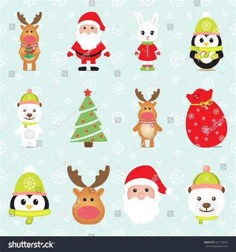 rabbit in new year 2015 new year 2015 elements with santa claus