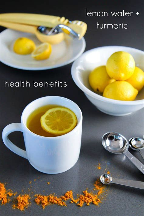 Warm Water And Lemon Detox by Warm Lemon Water With Turmeric Recipe Warm Lemon Water