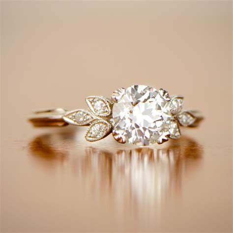 antique engagement rings no diamonds engagement ring usa