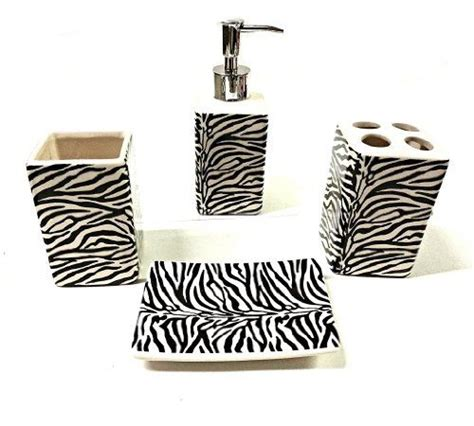 Zebra Bathroom Accessories 1000 Ideas About Zebra Print Bathroom On Zebra Bathroom Bath Accessories And Zebra