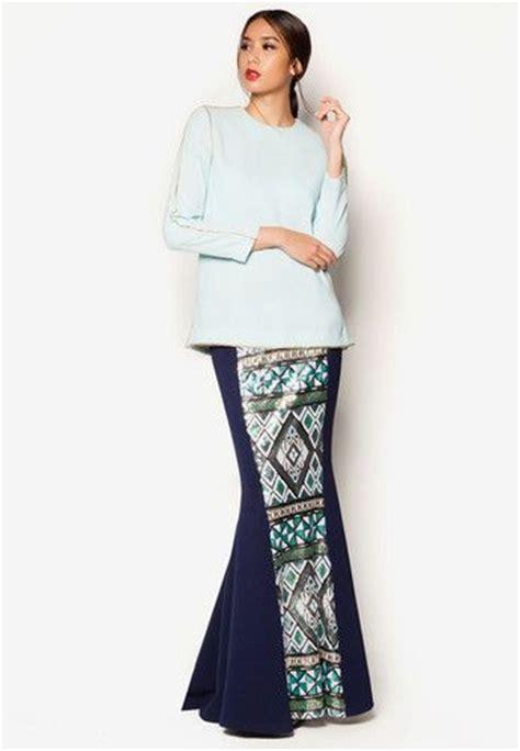 gaun peplum art deco aralyn baju kurung raya fashion favourites 2015