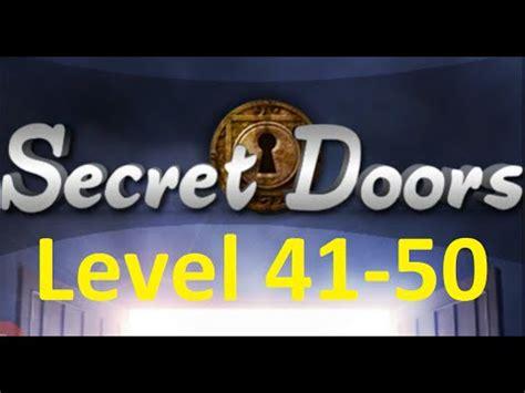 100 doors 2 levels 41 50 youtube secret doors escape 100 floors беглеца 100 этажей